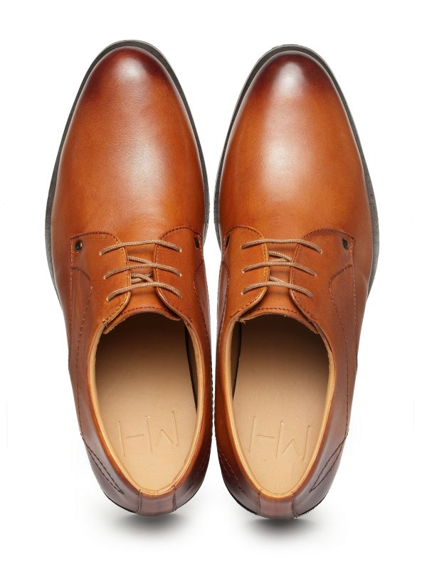 Helios Tan Derby Lace Up