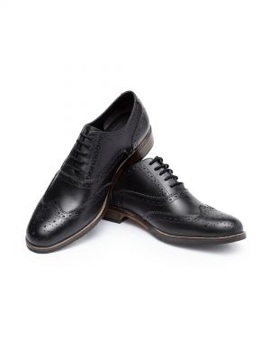 Edward Black Classic Wingtip Brogue Oxford