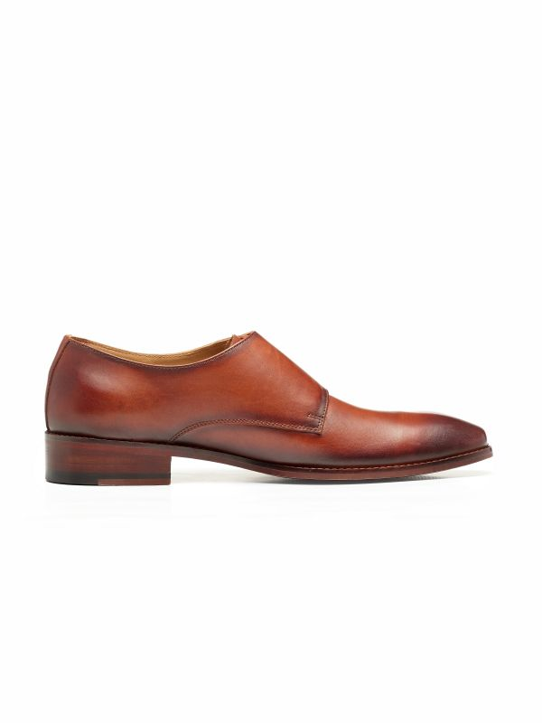 Harry Tan Double Buckle Monk Loafer