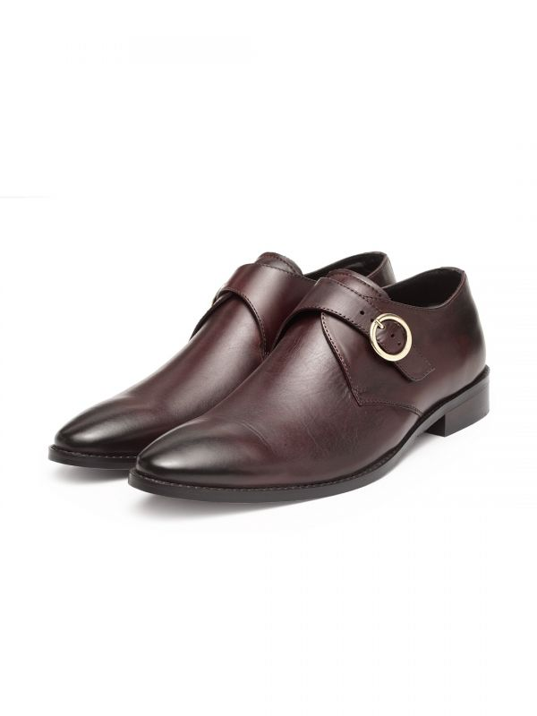 Bordo Single Buckle Monk