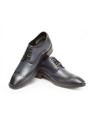 Majestic Navy Derby Shoe