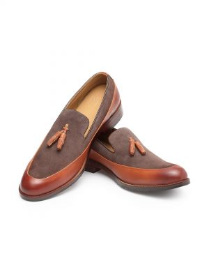 Romeo Choc Brown Tassel Loafer
